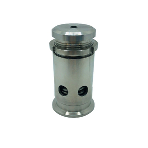 Adjustable Tri Clamp Pressure/Vacuum Relief Valve SS304 Stainless Steel
