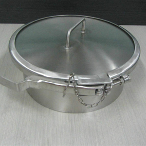 Sanitary Stainless Steel Pressure Round Clamp Kettle Manhole Cover