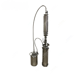 Stainless Steel LB Top Fill Closed Loop Extractors with Solvent Tank