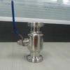 Sanitary Manual Threaded Inline Ball Valve Stainless Steel 304/316L