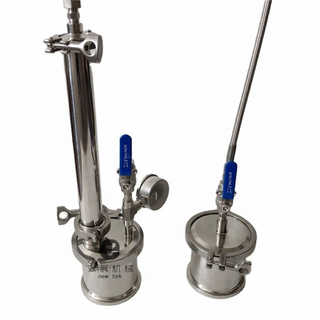 90g Top Filled Closed Loop Extractors Stainless Steel 304