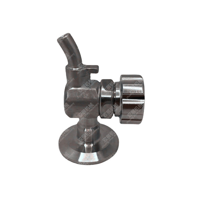 1.5in Sanitary Tri Clover Clamp EPDM Sample Valve SS304 Stainless