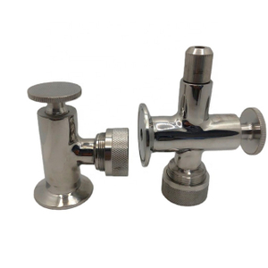 Tank Sight Level Valves Tri Clamp 1.5 in. Upper & Lower Pair SS304 Stainless Steel