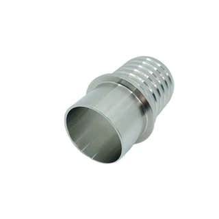 Sanitary Stainless Steel Hose Adapter Butt Weld End