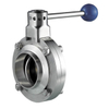 Sanitary Stainless Steel Muti-Position Manual Butterfly Valve