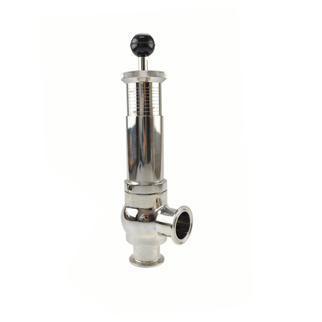 Sanitary stainless steel safety valve development history in food grade application