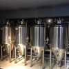 Stainless Steel Small Scale Fermenter with Cooling Jacket
