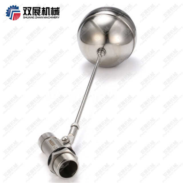 Stainless Steel 304 Water Tank Float Ball Valve 360 Degree Rotating