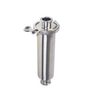 Sanitary Stainless Steel Tri Clover Compatible TC Inline Filter