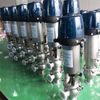 Hygienic Stainless Steel Reversing Valve with Intelligent Top L/L (21) Type
