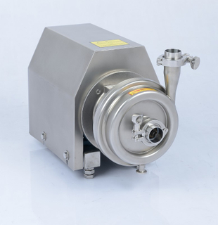Hygienic Stainless Steel Centrifugal Pump Square Cover ABB Motor