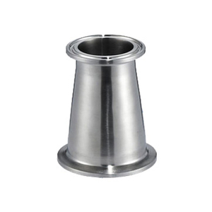 Sanitary Stainless Steel Tri-Clamp Concentric Reducers