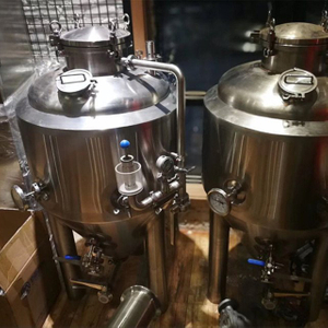 Stainless Steel Conical Fermentation Equipment Glycol-Jacketed