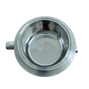 Sanitary Stainless Steel Tri-Clamp Jackted Splatter Shatter Platter
