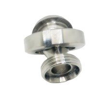 Sanitary Stainless Steel DIN Concentric Reducer Round Nut to Male Threaded