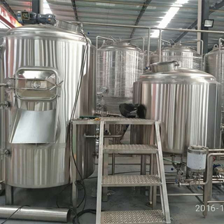 10bbl Beer Brewhouse in Commercial Brewing Plant