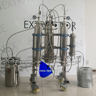 Stainless Steel Rack Mounted Dewaxing Closed Loop Bidirectional Extraction System
