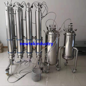 70lbs Stainless BHO Closed Loop Extraction System Fully Jacketed Column
