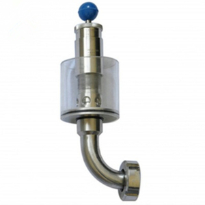 Sanitary Stainless Steel DN25 Brewery Tank Pressure Relief Valve with Nut