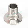 Sanitary Stainless Steel Tri Clamp Adapter G Threaded
