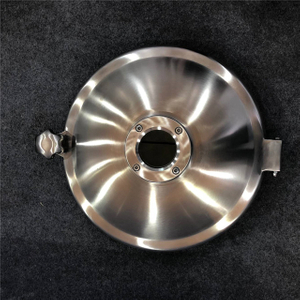 Food Grade Round Sight Glass Tank Manhole Cover -Stainless Steel 304/316L
