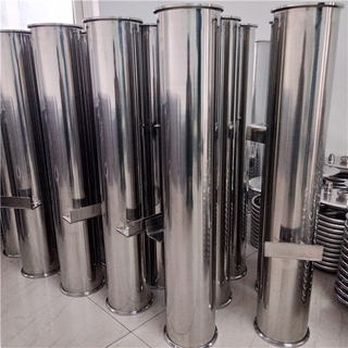 Sanitary Stainless Steel Tri Clover Bracketed Spool Tubes