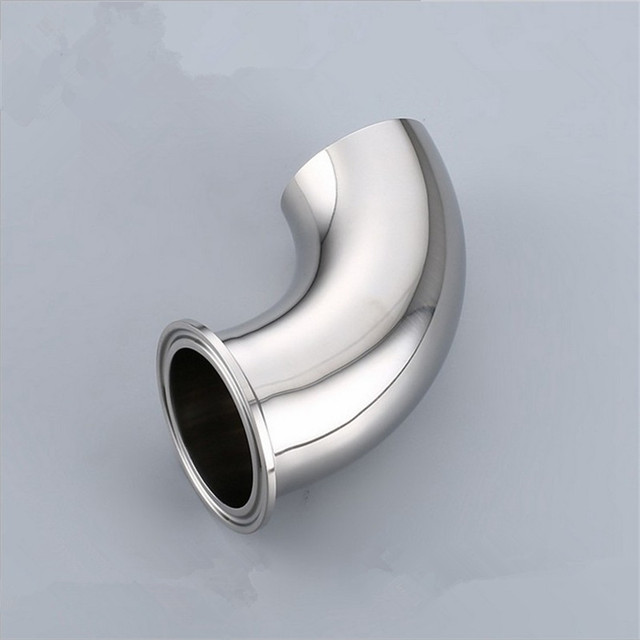 Sanitary Stainless Steel 45 Degree Tri Clamp X Weld Elbow