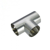 Sanitary Stainless Steel Polish Short Weld Tee
