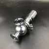 Sanitary Clamp Ends Safety Pressure Relief Valve -AISI304/316L