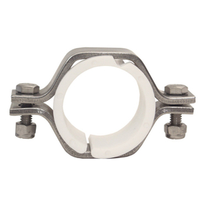 Sanitary Stainless Steel 304 Hex Tubing Hangers with PVC Insert