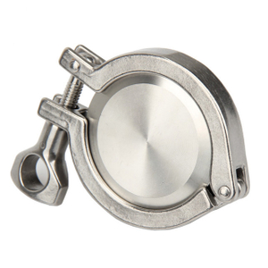 Sanitary Stainless Steel Clamp Ferrule and End Cap Union