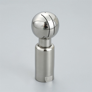 Sanitary Stainless Steel Tank Rotating CIP BSP Threaded Spray Ball