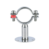 Sanitary Stainless Steel Round Pipe Hanger with Plate