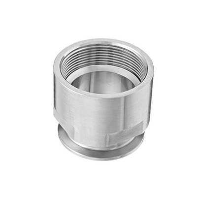 Sanitary Stainless Steel Female NPT x Tri Clamp Adapters (22MP)