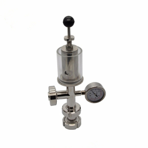 Santiary Stainless Steel Bunging Device Pressure Relief Valve
