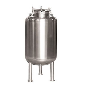 Stainless Steel Top Open Storage Tank with Rotary Spray Cleaning Ball