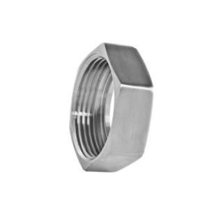 Hygienic Stainless Steel IDF Hexagon Nut Fittings